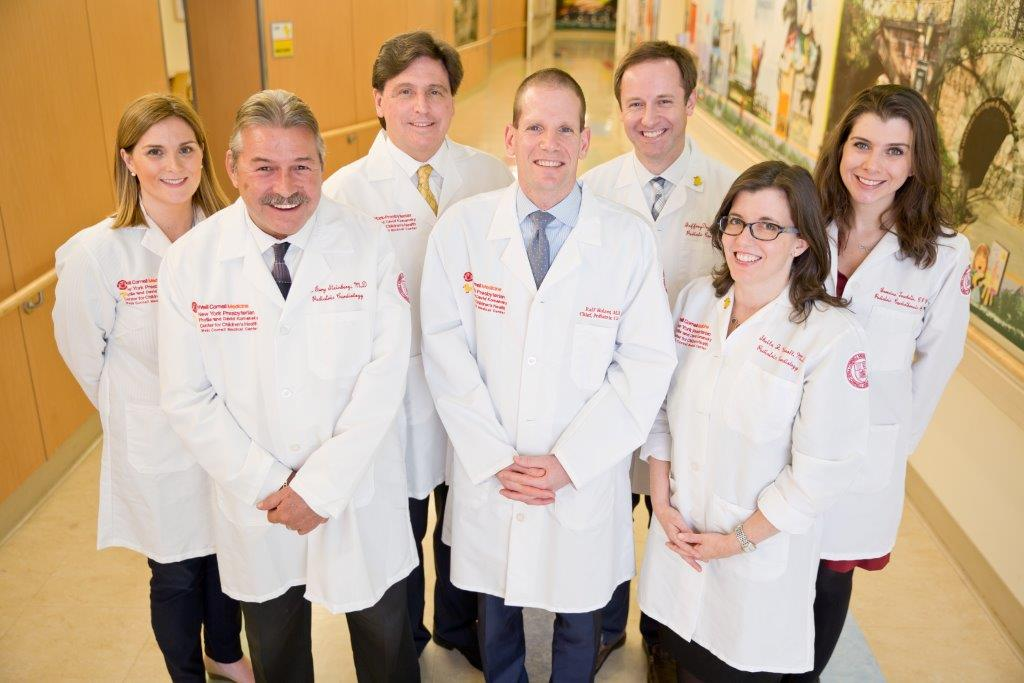 Pediatric Cardiology team at Weill Cornell Medicine