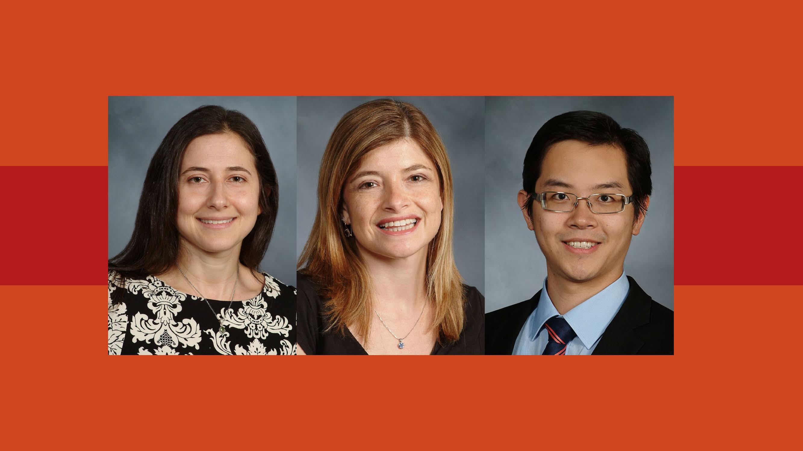 Dr Cori Green, Dr Haviva Veler and Dr Anthony Yuen