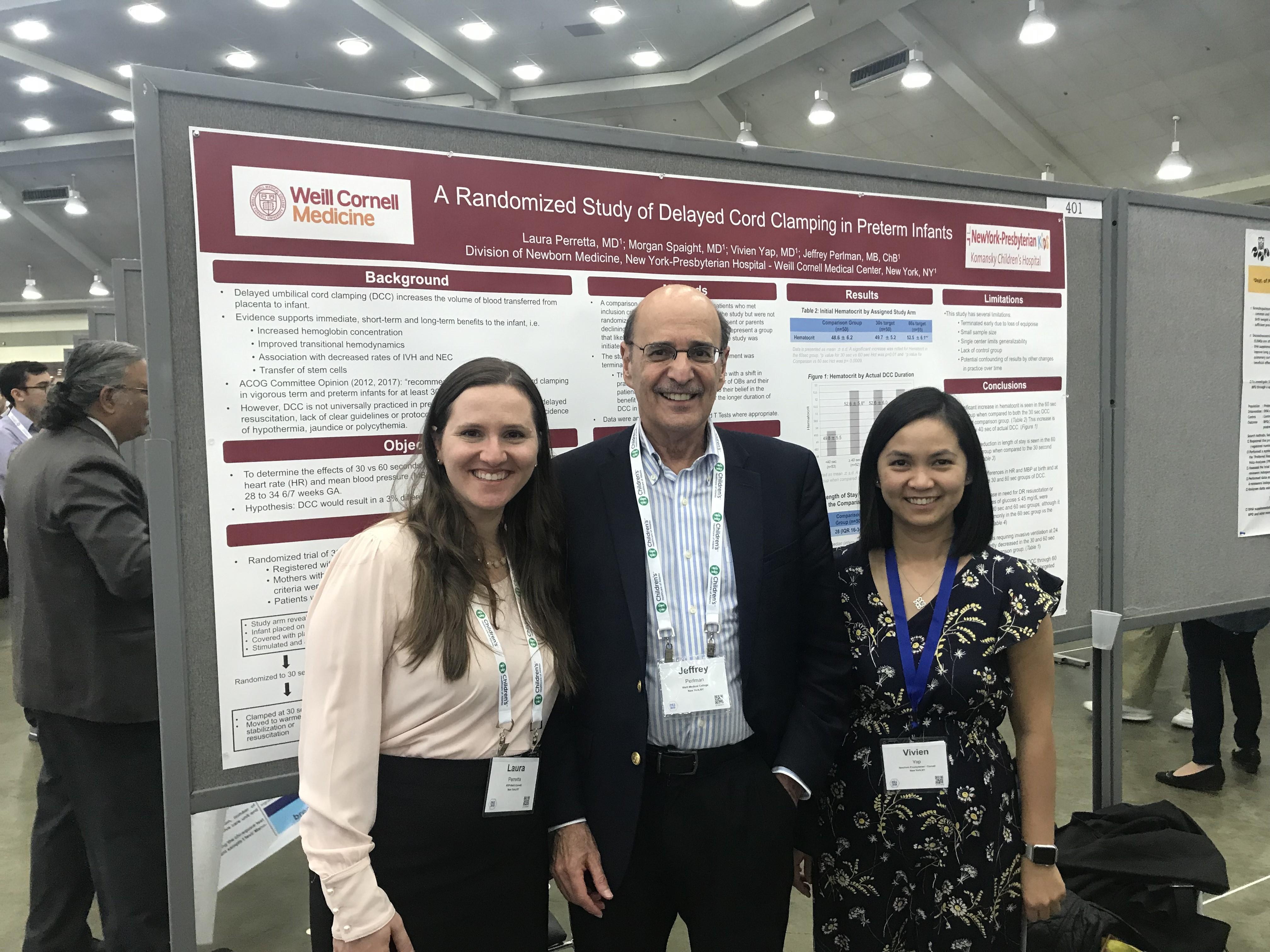 WCM Pediatrics at 2019 PAS