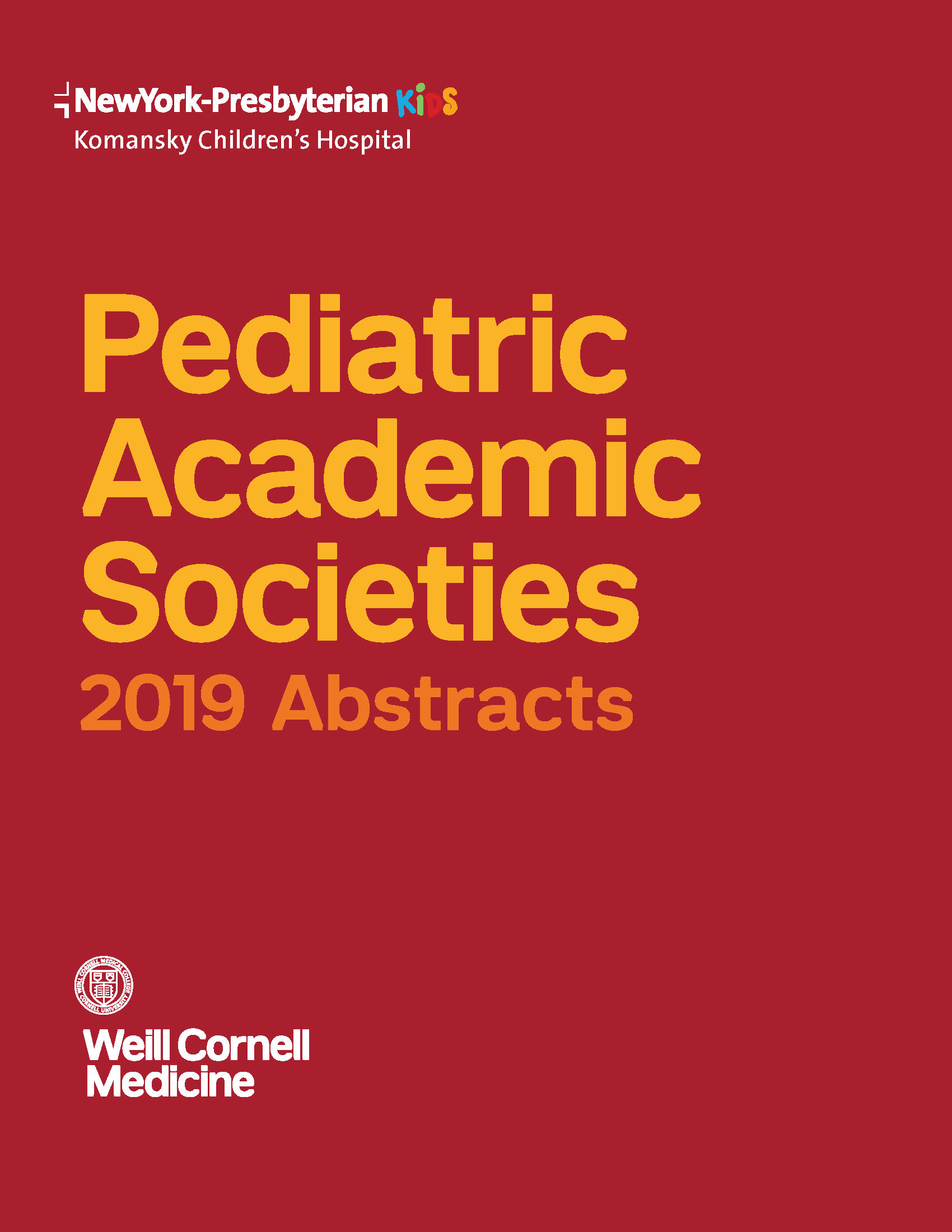 Cover of PAS Abstracts Guide