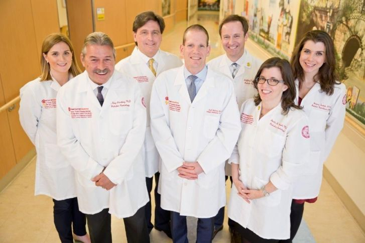 Pediatric Cardiology Division group photo