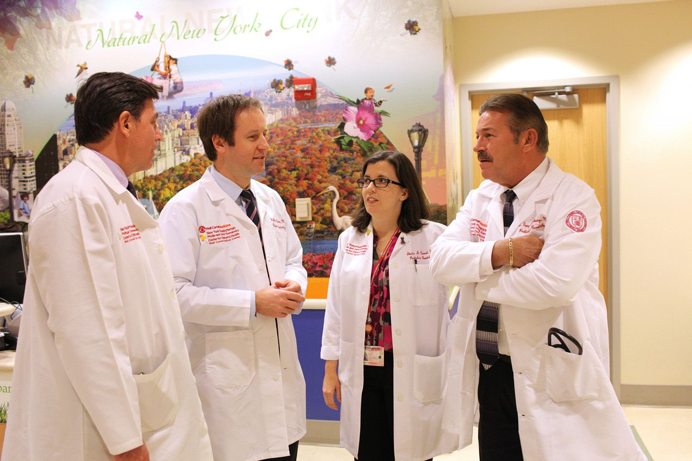 Pediatric cardiologists at Weill Cornell Medicine