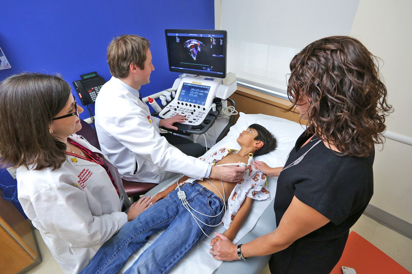 Pediatric Echocardiography Lab at Weill Cornell Medicine