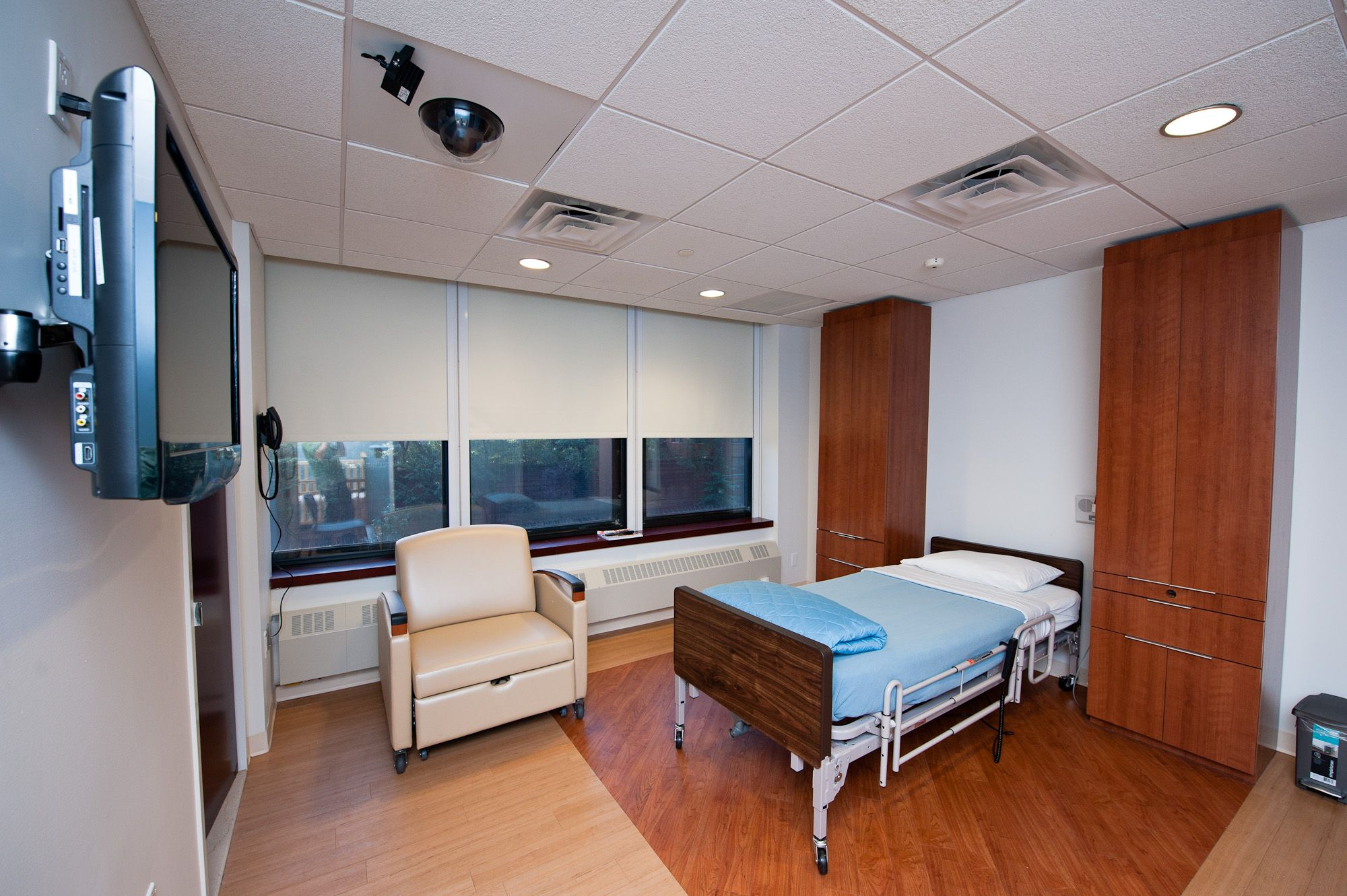 Bedroom at the Weill Cornell Pediatric Sleep Center