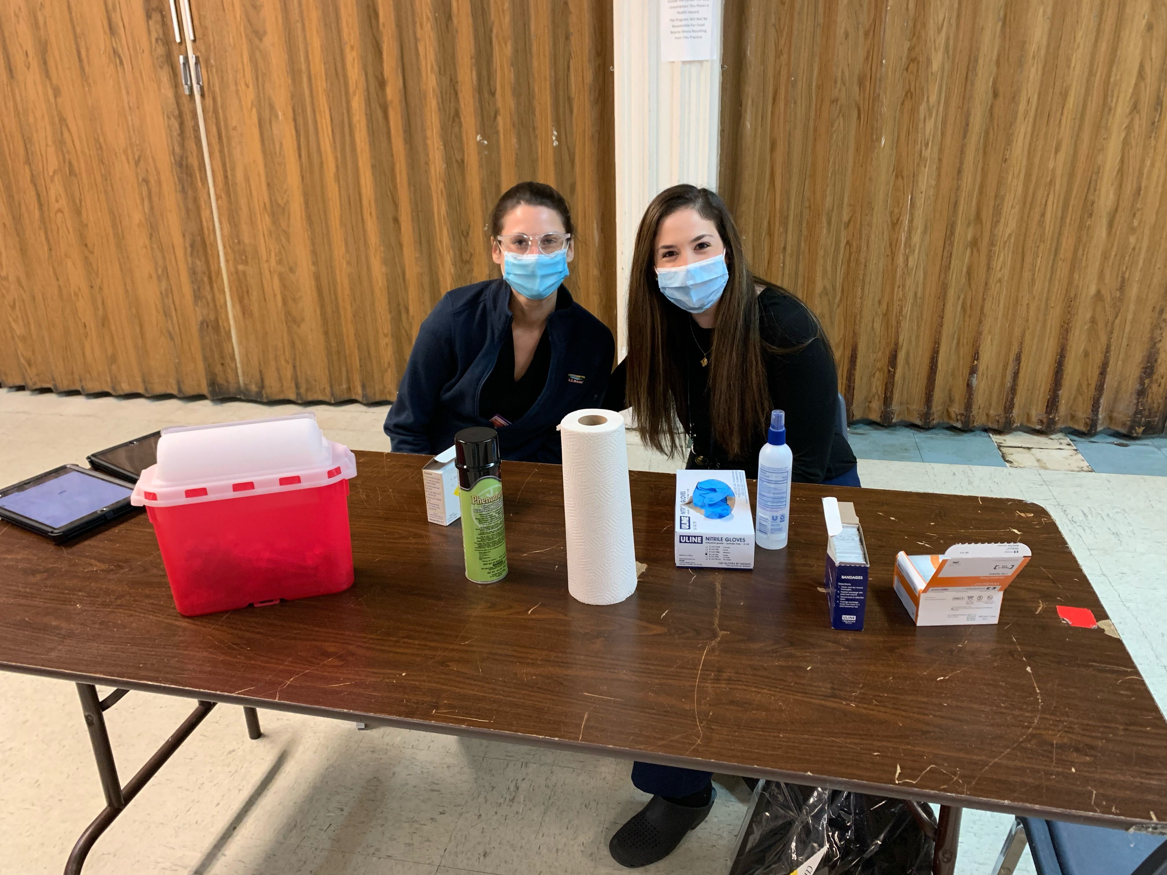 WCM Faculty and Fellows provide vaccines