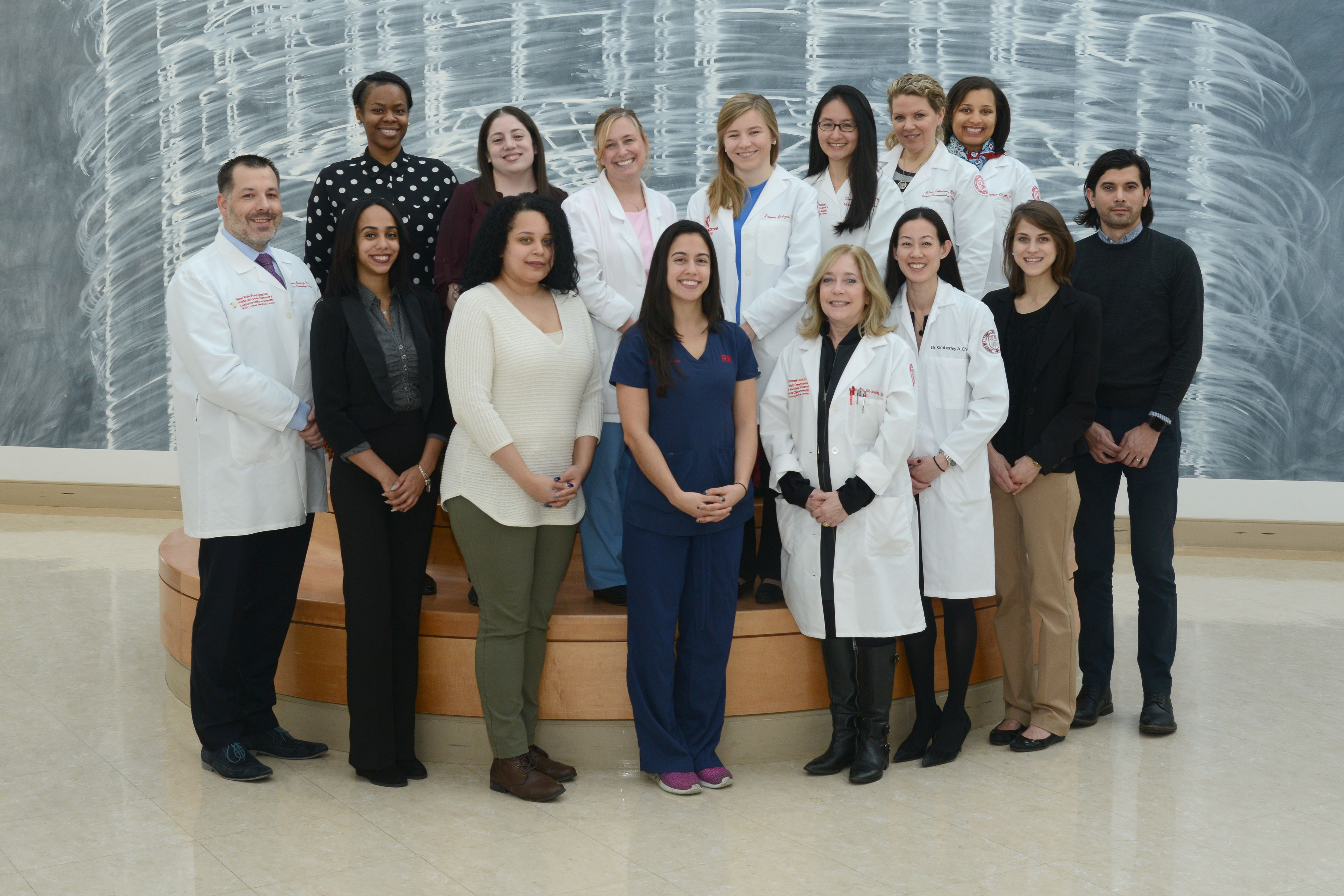 Weill Cornell Division of Pediatric Gastroenterology and Nutrition team photo