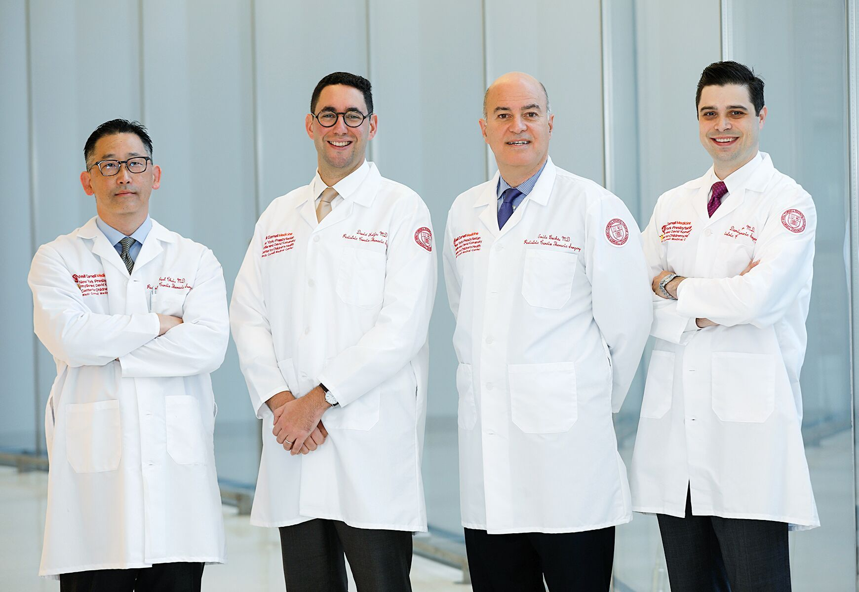 Team photo of pediatric cardiothoracic surgeons