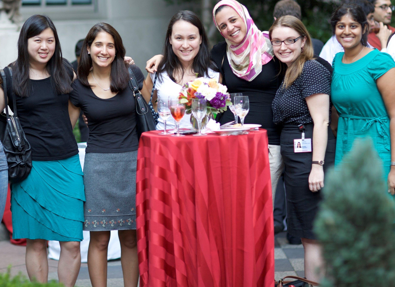 WCM Pediatrics residents mixer event