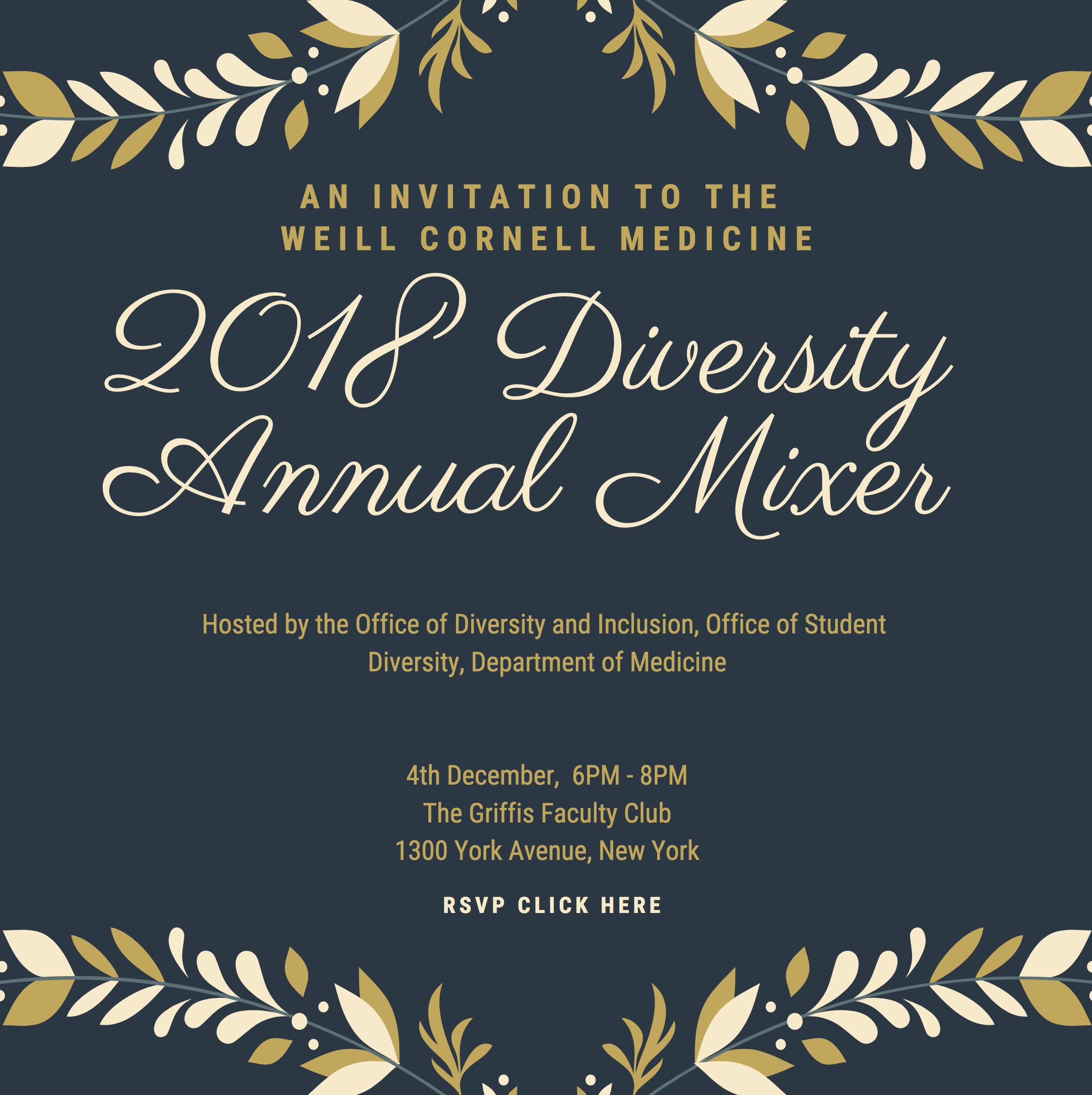 Diversity Mixer invitation