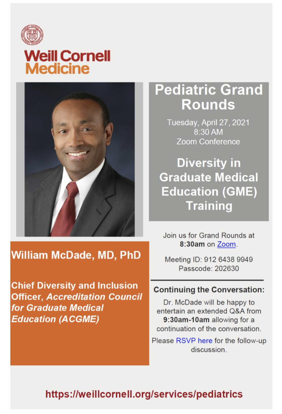 Grand Rounds flyer