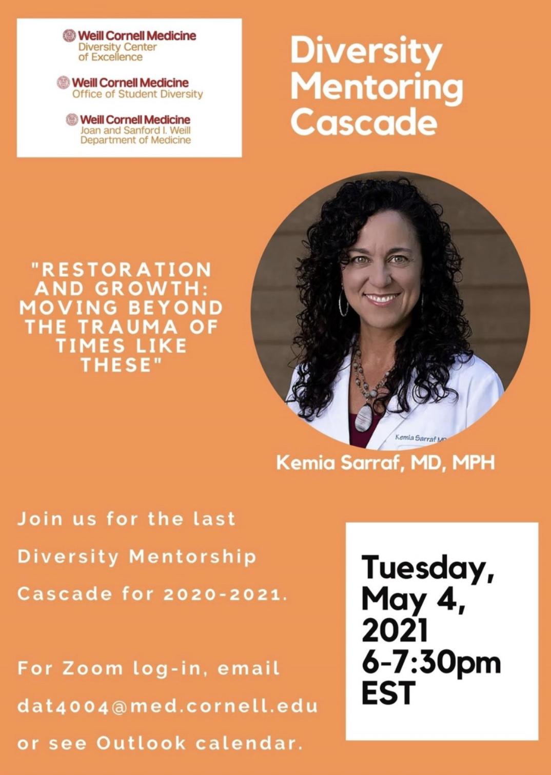 mentoring cascade flyer