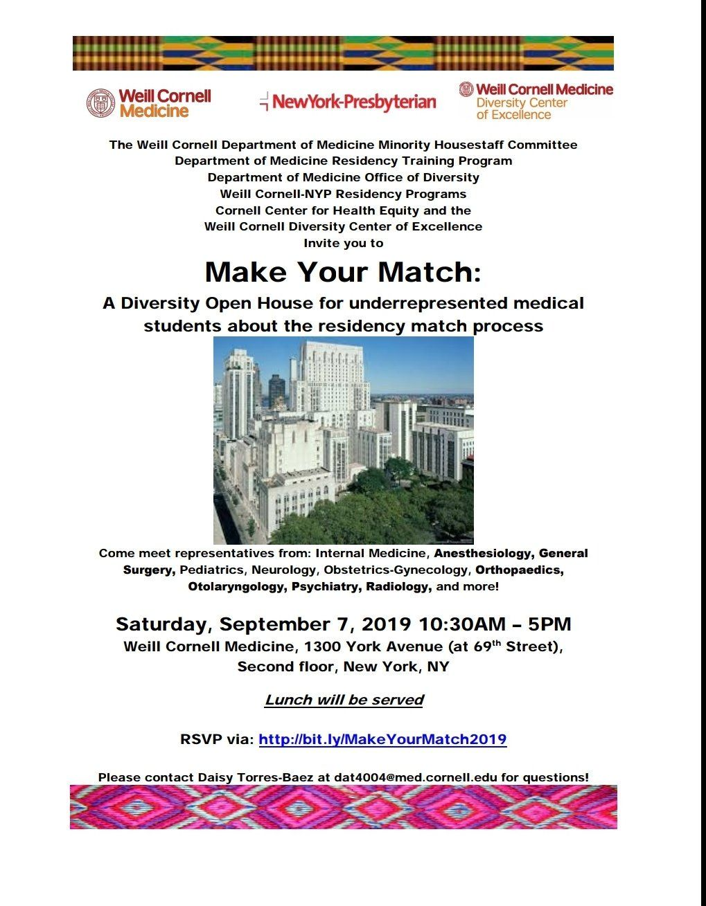 Make Your Match flyer
