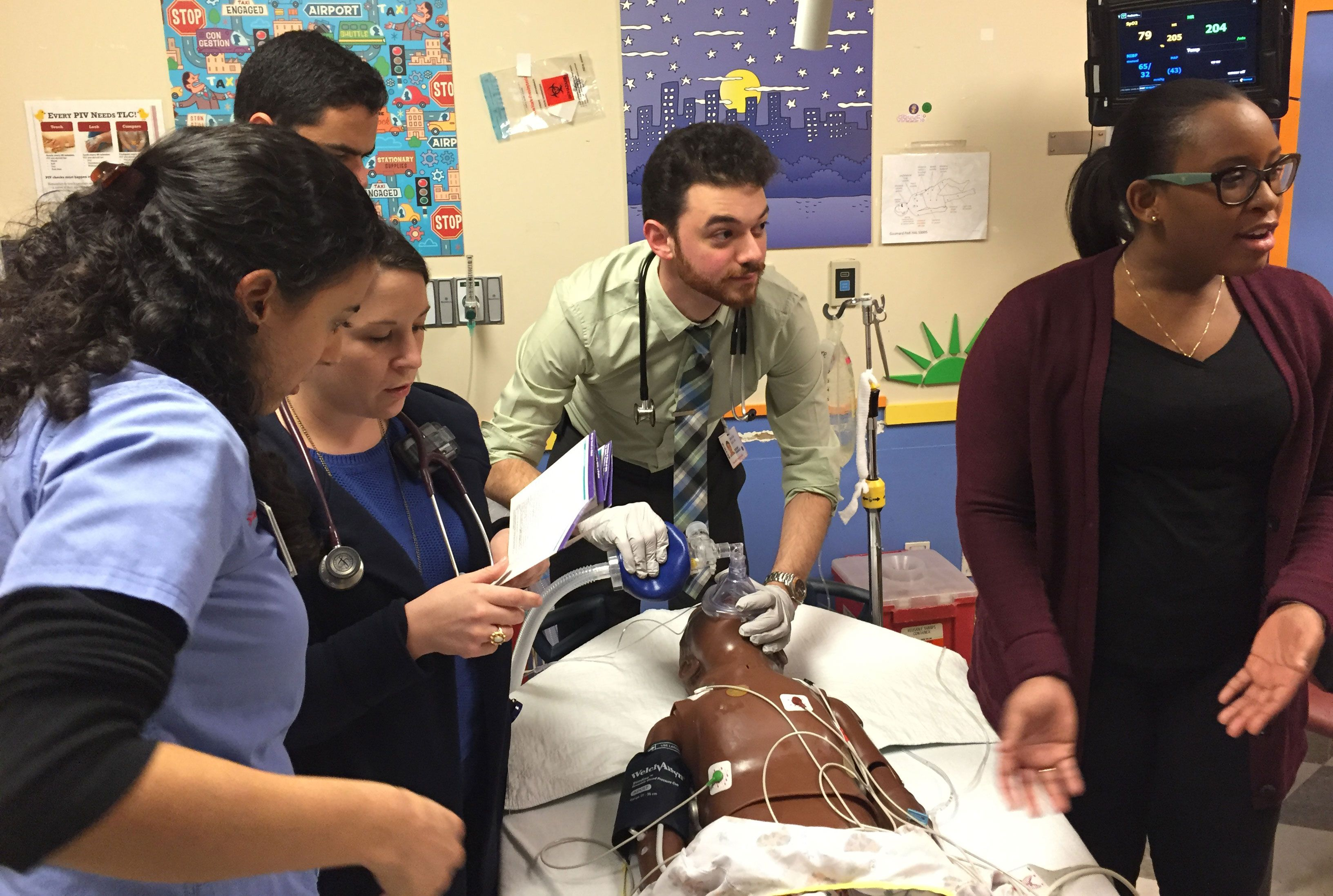 Weill Cornell Pediatric Simulation